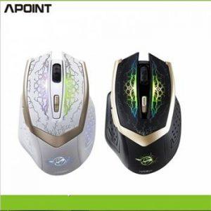 Chuột không dây APOINT G600S 2400DPI CHO GAME THỦ240K (Copy)