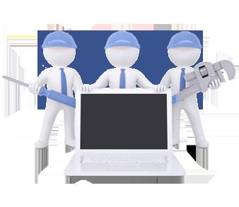 computer repair team